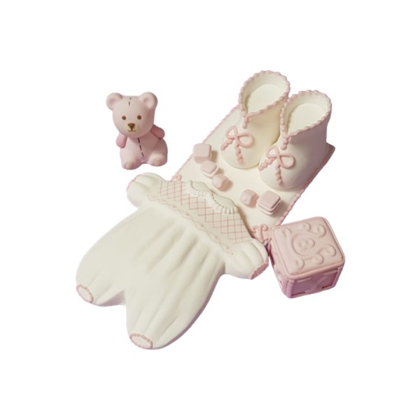 Set figurine botez fetita