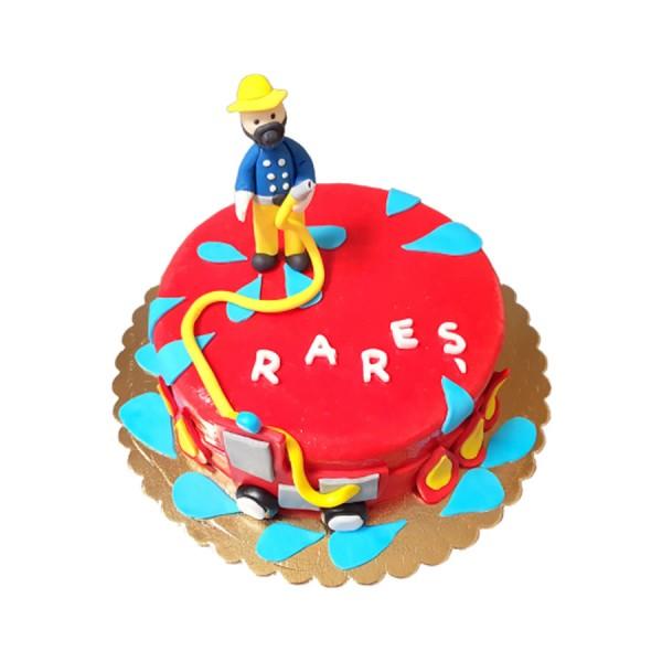 Tort figurina Pompier