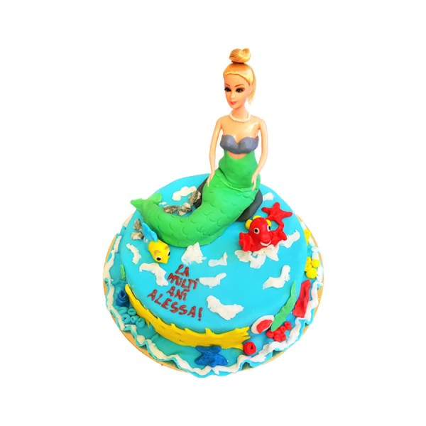 Tort figurina Sirena