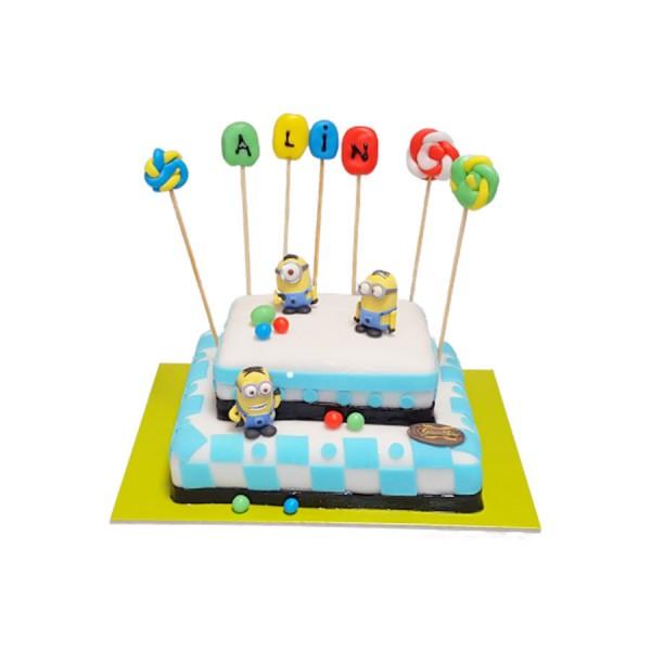 Tort figurine Minioni