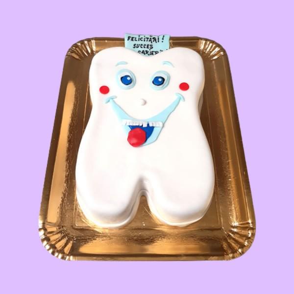Tort personalizat dinte