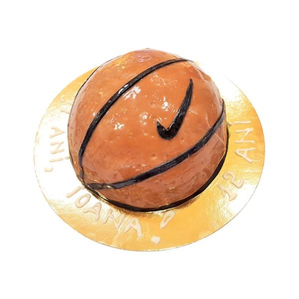 Tort personalizat minge de baschet