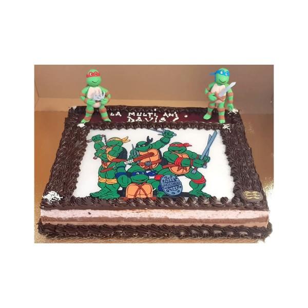 Tort figurine Testoasele Ninja